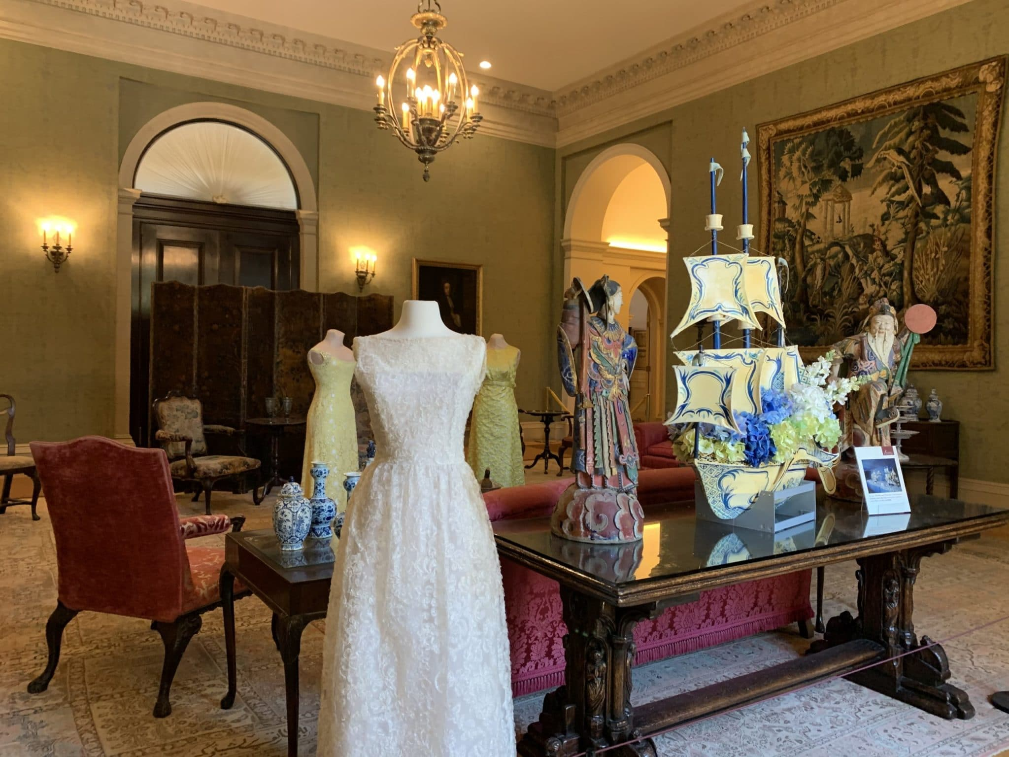 Reception Room With Party Clothes Scaled