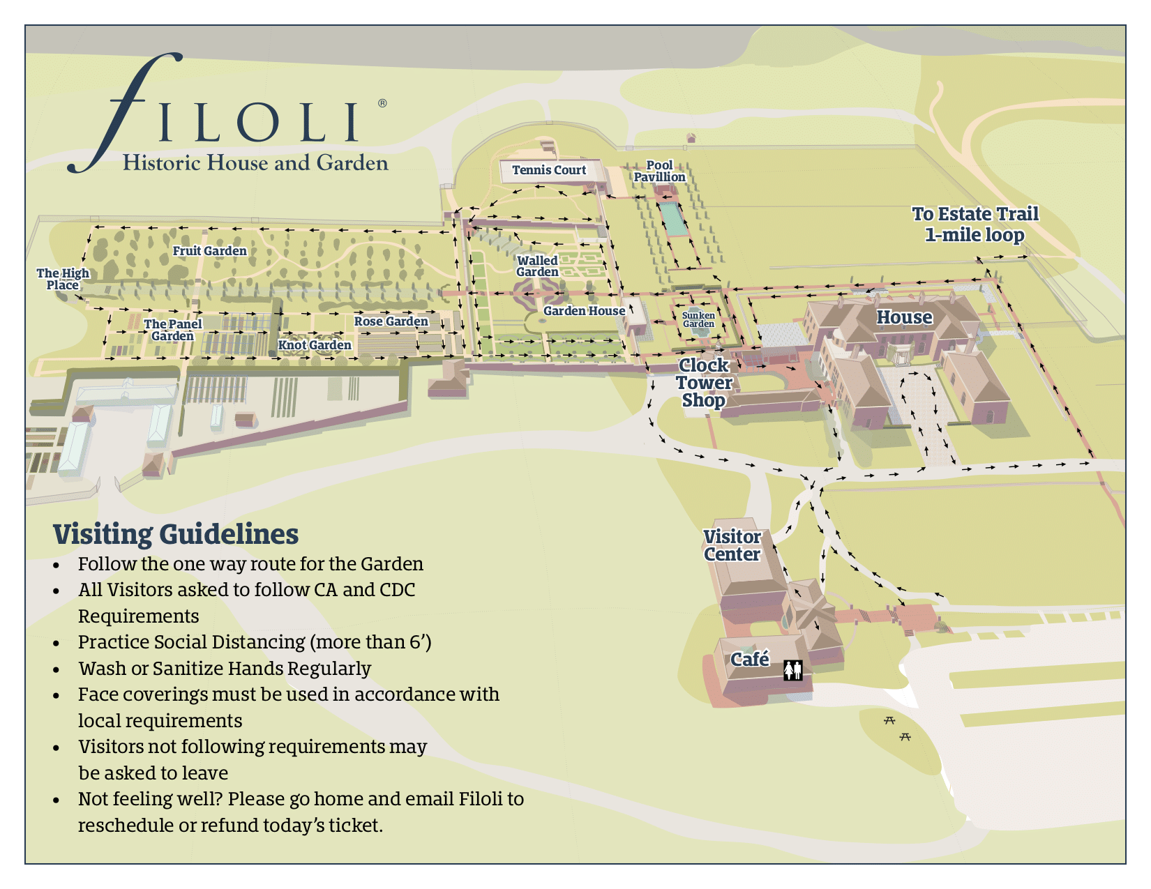 Printable Visitor Map