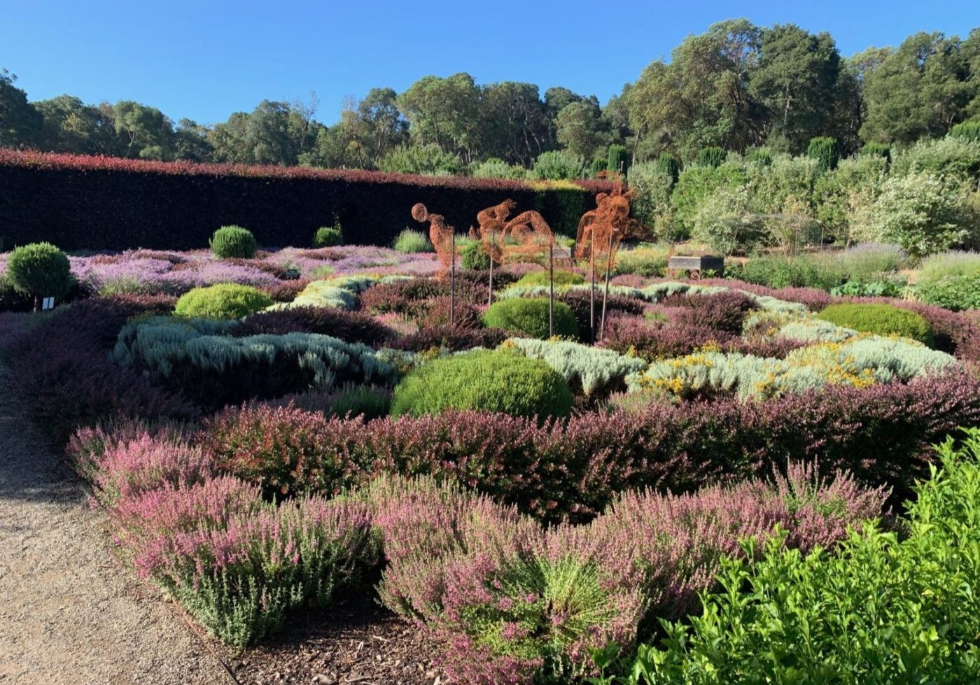 Don't miss the Knot Garden during your visit!